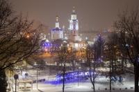 В ночь с 6 на 7 января 2021 года, в праздник Рождества Христова, митрополит Орловский и Болховский Тихон совершил в Богоявленском соборе города Орла праздничную Божественную литургию