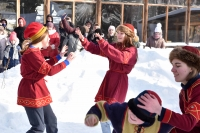 В «Знаменской богатырской заставе» прошел сретенский молодежный праздник. 14 февраля 2021 г.
