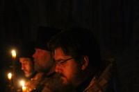 В канун Недели о блудном сыне митрополит Орловский и Болховский Тихон совершил всенощное бдение в Успенском (Михаило-Архангельском) соборе города Орла. 27 февраля 2021 г.