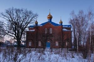 Покровский храм с. Клейменово