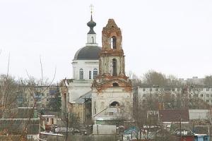 Крестовоздвиженский храм г. Мценска