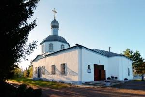 Знаменский храм п. Знаменское Орловской области