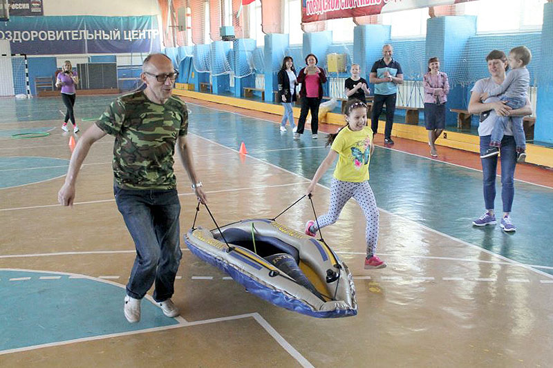 Приход собрал семьи Северного района на «Знаменские эстафеты»