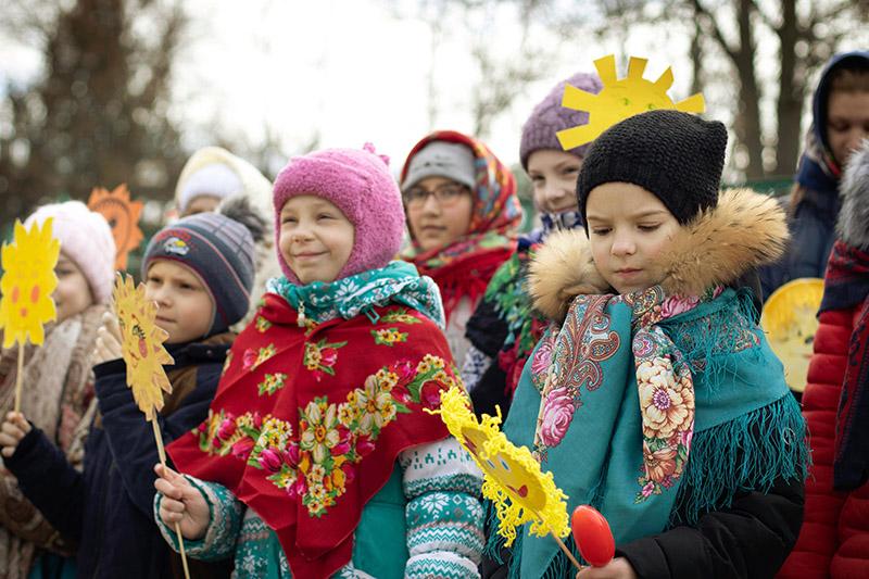 В Михаило-Архангельском храме Прощеное воскресенье отметили всем приходом