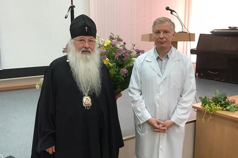 Владыка Тихон поздравил орловских медиков с профессиональным праздником